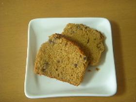 きなこと小豆のパウンドケーキ