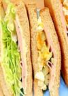 ホイップバターマヨが美味しいサンドイッチ