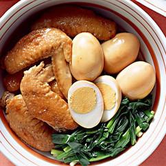 手羽先と卵の煮もの