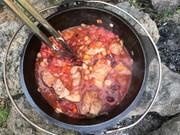 豚肉のカスレ-簡単ダッチオーブン料理-の写真