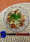 鮭缶で簡単マリネ