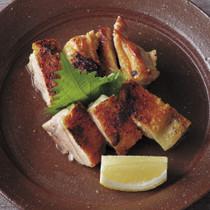 鶏のパリパリ焼き
