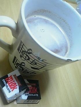 ♡ラブラブダーリンとホットチョコレート♡