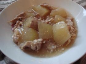 サッパリ☆冬瓜と豚肉の煮物