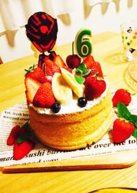 6歳誕生日キュウレンジャーケーキ?