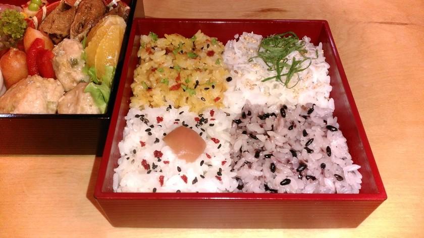 ☆お弁当 4色彩りご飯☆