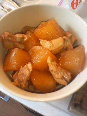 炊飯器でかんたん♪大根と鶏ももの煮物