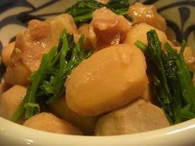 こっくりと♪里芋と豚バラ煮物