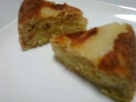 炊飯器deふわふわ♪りんごのケーキ♪