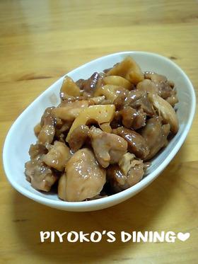 超ヘルシー❀鶏とレンコンのさっぱり梅酢煮