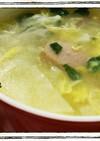 包まない☆ワンタンの皮のスープ
