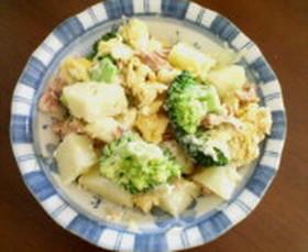 簡単! ブロッコリーとツナのポテトサラダ