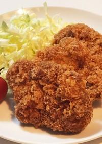 チキン&トン・カツ☆簡単!袋でパン粉付け