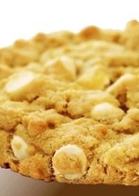 スタバ☆ホワイトチョコマカダミアクッキー