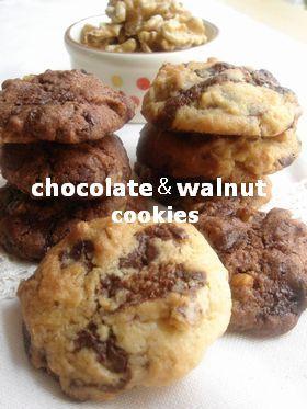 ♡♡チョコとクルミのサクサククッキー♡♡