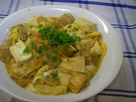 ダイエッターに捧ぐ❤白滝と豆腐の卵とじ