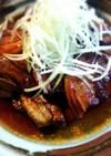 紅茶豚からの(°▽°)豚の角煮風