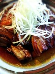 紅茶豚からの(°▽°)豚の角煮風の写真