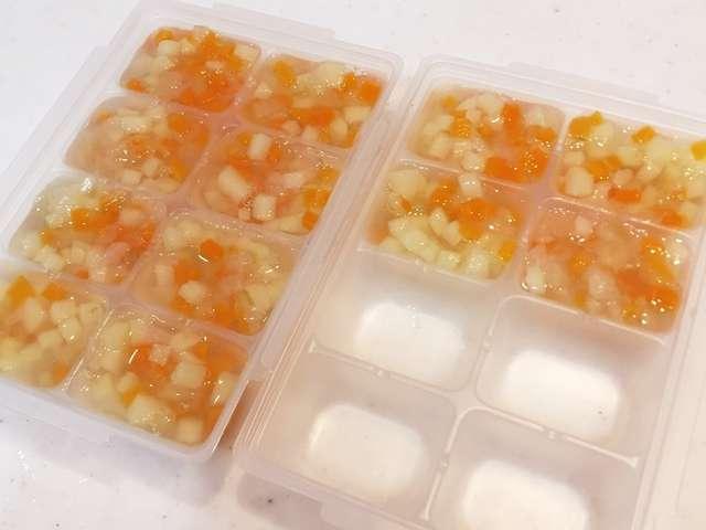 離乳食中期 野菜ミックス