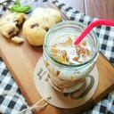麦茶で作る簡単トロトロ☆ドロリッチ。