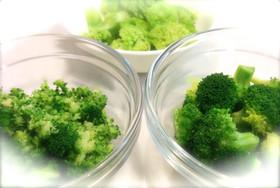 3種類の食感!ブロッコリーの茹で方と保存