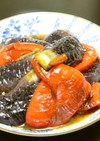 茄子とパプリカのオランダ煮:油焼き煮
