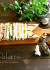 【こどもの日】鯉のぼりサンドイッチ♪