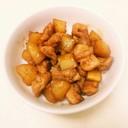 鶏もも肉とジャガイモの甘辛煮☆