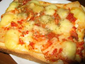 キムチピザトースト