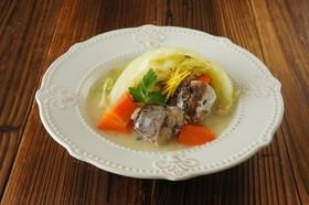 魚を丸ごと!鯖とキャベツの白味噌煮