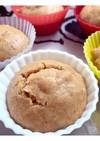 簡単☆離乳食にも!米粉ときな粉の蒸しパン