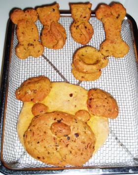 犬のクッキー~陶芸教室?(^。^;)