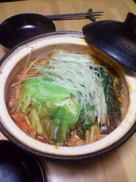 ピリカラ絶品☆トマト鍋