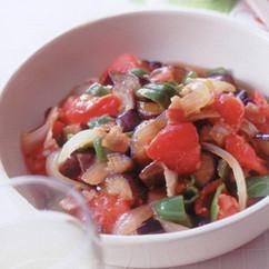 夏野菜の和風ラタトゥイユ