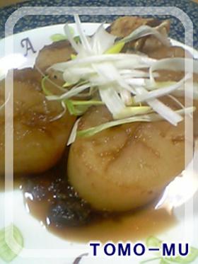 黒酢たまドレ で大根の煮物