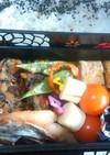 お弁当:さわらの味噌漬け焼き