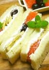 ◆朝に食べたい♪かんたんフルーツサンド◆