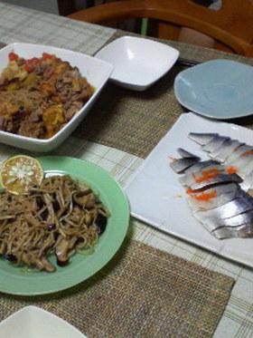 こっくりがおいしい☆豚と秋野菜の煮物