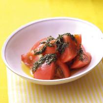 トマトのしそ風味サラダ
