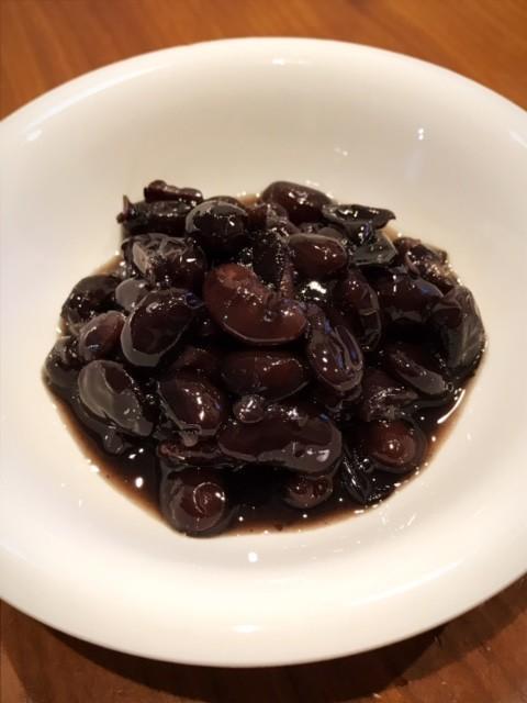 昔ながらの黒豆煮