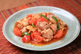 タイ風鶏肉の炒め物