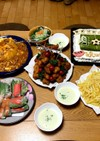 誕生日の夜ご飯(男子中学生用)