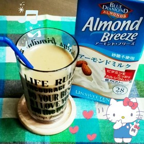 ダイエット♡アーモンドミルク♡ラテ♪