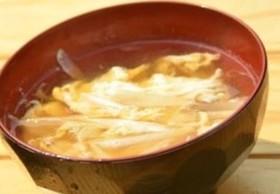 ちょー簡単ミョウガの卵スープ