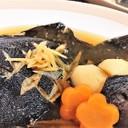 一緒に煮て時短【子持ち黒ガレイの煮魚】