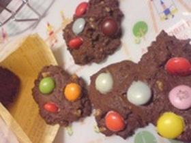 マーブルチョコクッキー