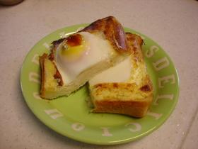 超簡単☆エッグトースト