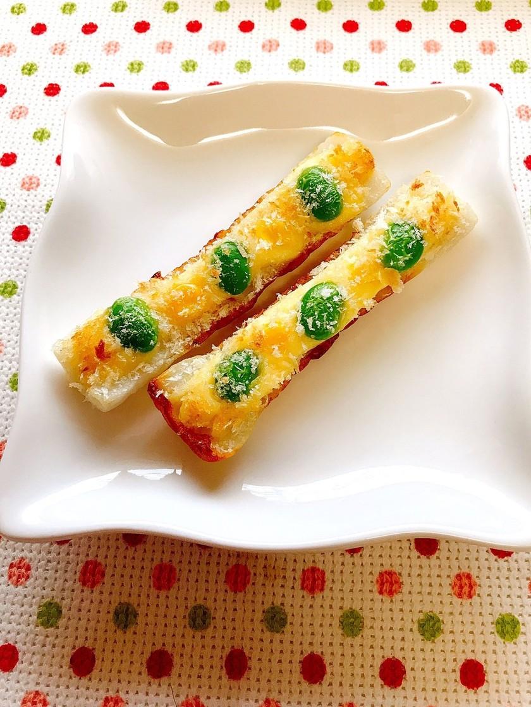 彩りちくわのマヨチーズ焼き〜お弁当にも♪