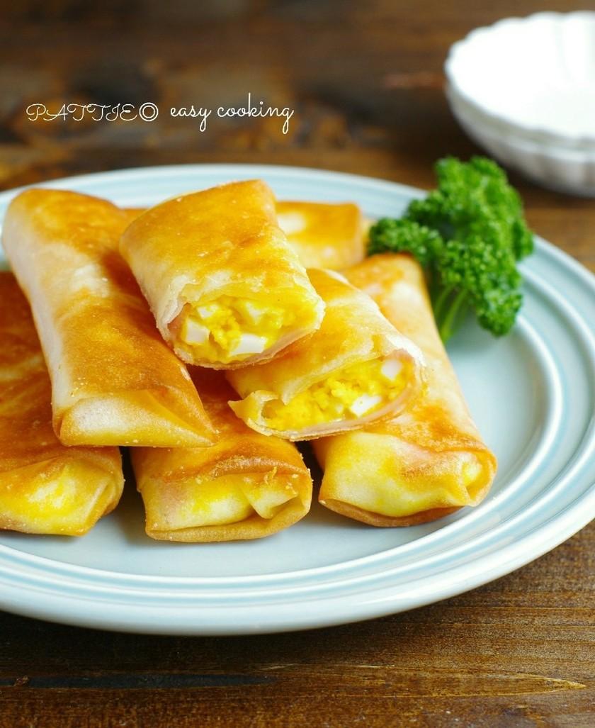 ☆簡単☆ハムたまチーズ春巻き