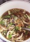 卵豆腐の春雨スープ